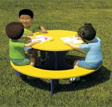 kids outdoor picnic table kids fun size plastic picnic table playground equipment belson