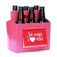 valentines day gifts for valentines day gifts for him or six pack