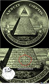 Illuminati Memes - forever alone guy s standing behind the illuminati by