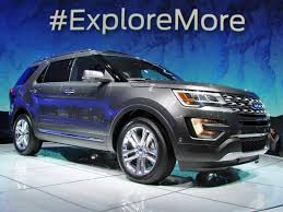 Ford Explorer 2016 Interior 2016 Ford Explorer Platinum Trim Level Performance Interior