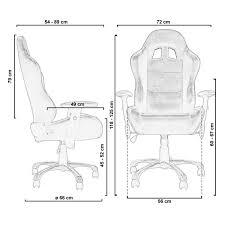 fauteuil de bureau sport racing de bureau sport baquet racing en cuir daytona noir