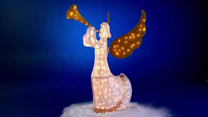 Lighted Sleigh And Reindeer by Lighted Outdoor Santa Sleigh And Reindeer Chic Outdoor Angel