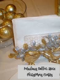 dollar store christmas decorations gold and silver crafts the