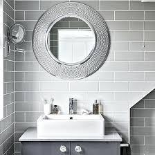 gray bathroom mirror u2013 homefield