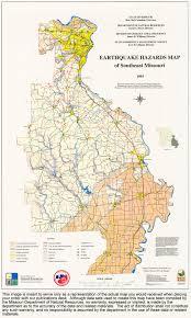 Missouri On Map Missouri Geological Survey