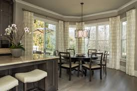 kitchen marvelous banquette window treatments ideas with white