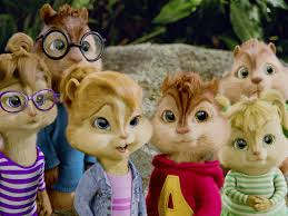 alvin chipmunks slowed normal pitch