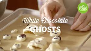 halloween recipe white chocolate ghosts freshly made l whole