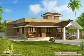 one floor house design plans with bedroom single floor home design