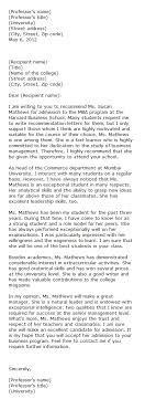 College Letter Of Recommendation From A Family Friend sle college letter of recommendation from family friend archives