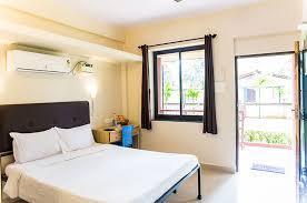 studio rooms beach hotel in goa lazy frog double room studio rooms