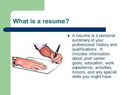 how to write a professional profile resume genius in what goes on