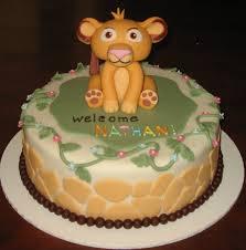 baby lion king theme free printable invitation design