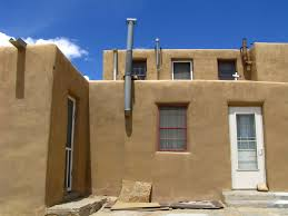 adobe house sky city acoma pueblo new mexico a photo on