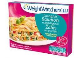 plat cuisiné weight watchers plat cuisiné numéro 1 lasagnes saumon et petits légumes weight