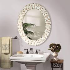 bathroom cabinets classic home furniture mirror design oval nice