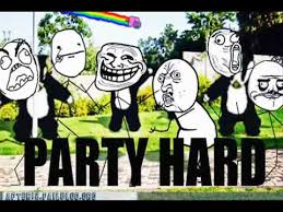 Party Hard Meme - le internet medley memes party hard youtube
