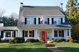 small colonial homes with shutters exterior paint colors google