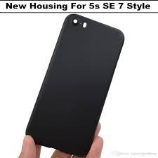 2017 matte black housing for iphone 5s se housing 7 mini aluminum
