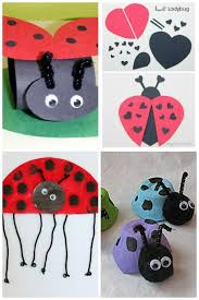 ladybug craft ideas housing a forest