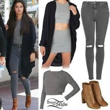 selena gomez sweater shoes sweater grey selena gomez blouse wheretoget