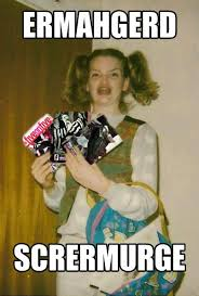 Roller Derby Meme - ermahgerd scrermurge roller derby meme pinterest roller derby