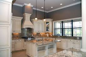 Kitchens With Off White Cabinets Painting Kitchen Cabinets Off White Best Home Interior White