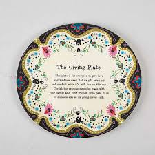 it s your special day plate ivory giving plate