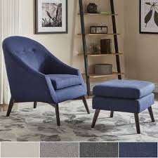 chair u0026 ottoman sets contemporary living room furniture for less