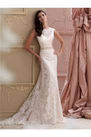 wedding dress high neck mermaid high neck v back lace glitter wedding dress