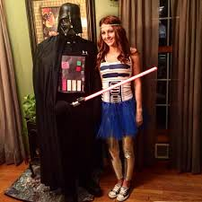 star wars costumes quick and easy couples star wars costume starwars