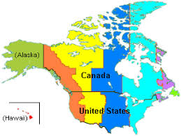 canadian map with time zones canada current time map weather news and information