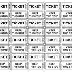 sample raffle ticket template 20 pdf psd illustration word