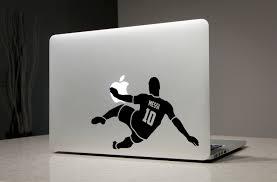 lionel messi sticker decal macbook laptop decals stickers apple