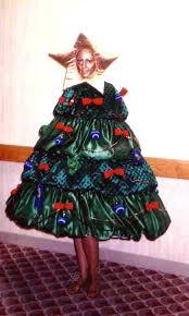 christmas tree costume for the santa crawl carmona and gardner