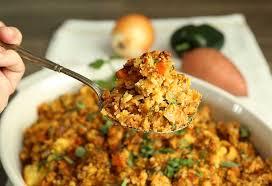 chorizo cornbread dressing hilah cooking