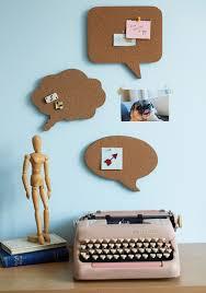 conversation starters cork board set mod retro vintage wall