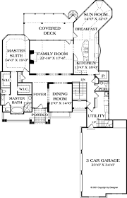 craftsman style house plan 4 beds 4 50 baths 4304 sq ft plan 453 22
