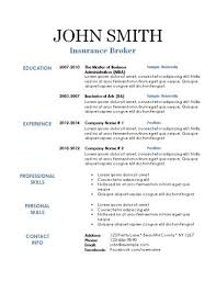 Michigan Resume Builder Blank Resume Template Stylist And Luxury Simple Resume Layout 10