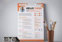 resume design sample free creative resume cv design template with 3 colors psd good