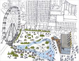 new plans for boston u0027s city hall plaza include ferris wheel urban