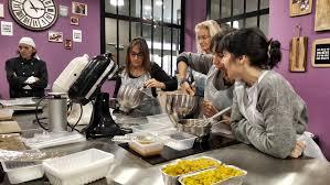 cours cuisine toulon atelier zôdio bûche exotique insert mangue et biscuit