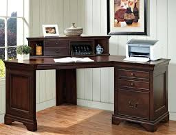 Black L Shaped Desk With Hutch L Shaped Computer Desk With Hutch Eatsafe Co