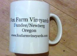f f p d coffee mug fox farm pinot drinker fox farm vineyards