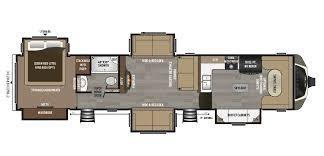 Luxury Rv Floor Plans Keystone Montana 3820fk 5th Wheel For Sale
