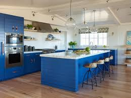 electric blue kitchen cabinets staining kitchen cabinets pictures ideas tips from hgtv