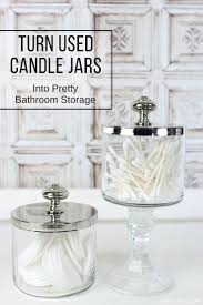 best 25 bathroom jars ideas on pinterest toiletry organization