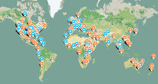 World Hunger Map by 5 Tips For Hosting A World Food Day Dinner Party That Matters