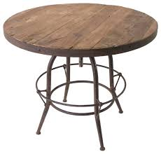 Reclaimed Wood Bistro Table Catchy Reclaimed Wood Bistro Table With Wood Bar Table Sosfund