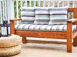 diy outdoor seating wood bench patio deck furniture diy montreal